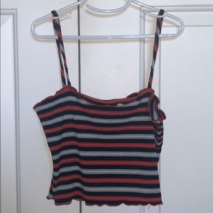striped tank from Tilly's